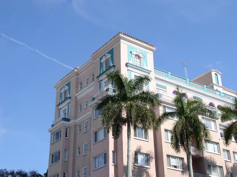 Historisch Hotel royalty-vrije stock foto's