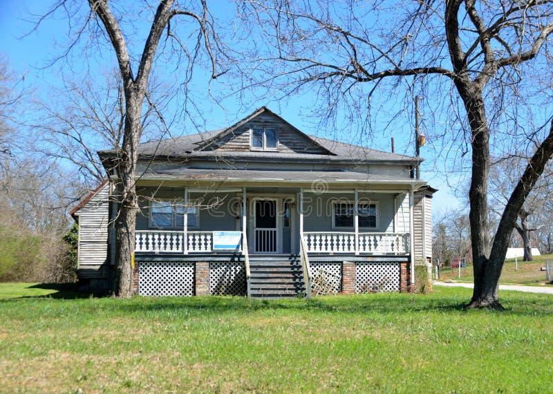 Historisch huis voor verkoop royalty-vrije stock foto's