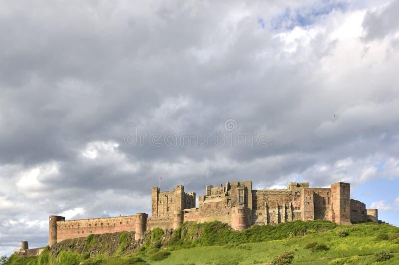 Historisch Kasteel van Noordoostelijk Engeland stock afbeeldingen