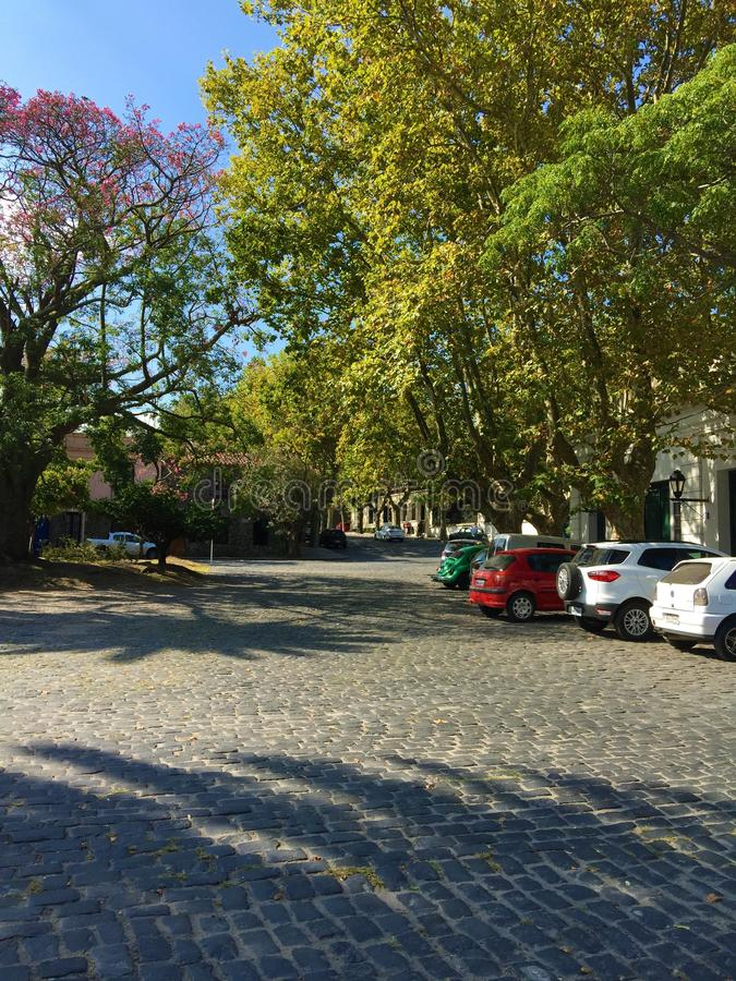 Historisch Kwart van de Stad van Colonia del Sacramento royalty-vrije stock afbeeldingen