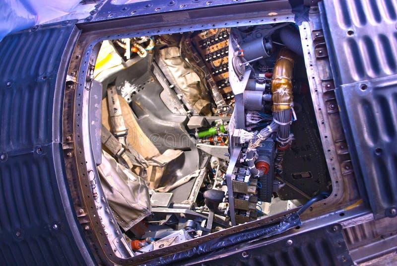 Historisch Mercury 7 Sigma 7 Wally Schirra Space Travel Capsule stock foto's