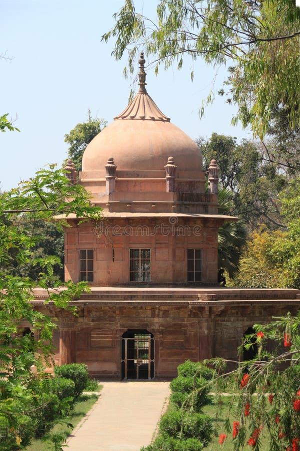 Historisch Monument in Allahabad, India royalty-vrije stock foto