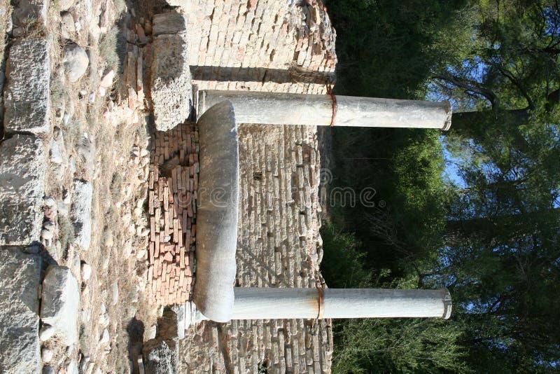Historisch Olympia - Griekenland royalty-vrije stock afbeelding