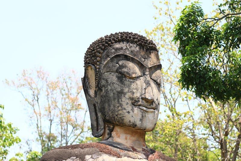 Historisch Park van de Provincie van Kamphaeng Phet, Thailand, vroeger een hoofdstad Dit is een toeristische attractie stock foto's