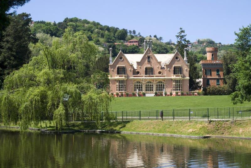 Historisch park van Villa Serra royalty-vrije stock afbeelding