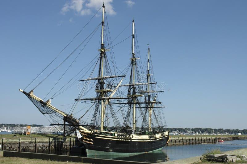 Historisch schip stock foto