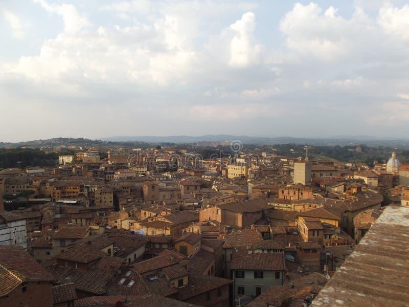 Historisch Siena stock foto's