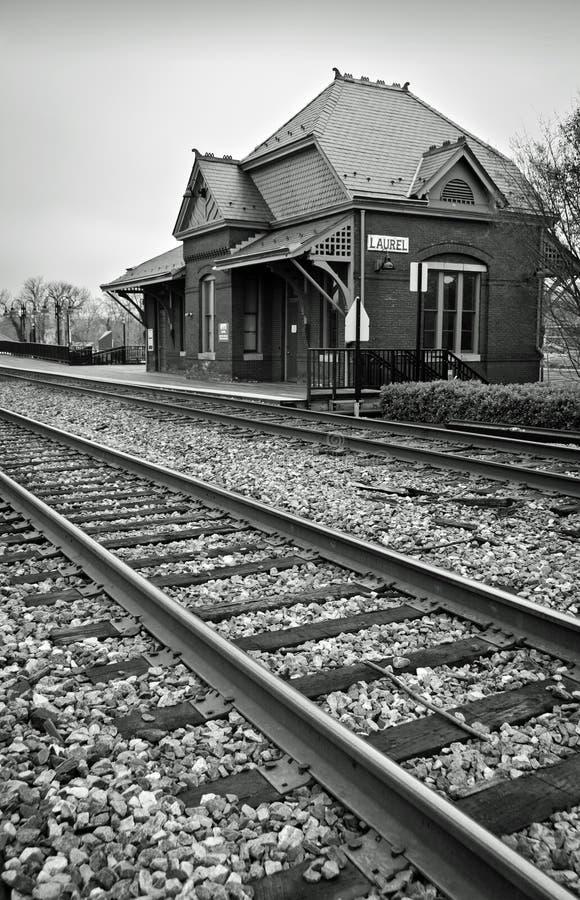 Historisch Station Stock Afbeelding