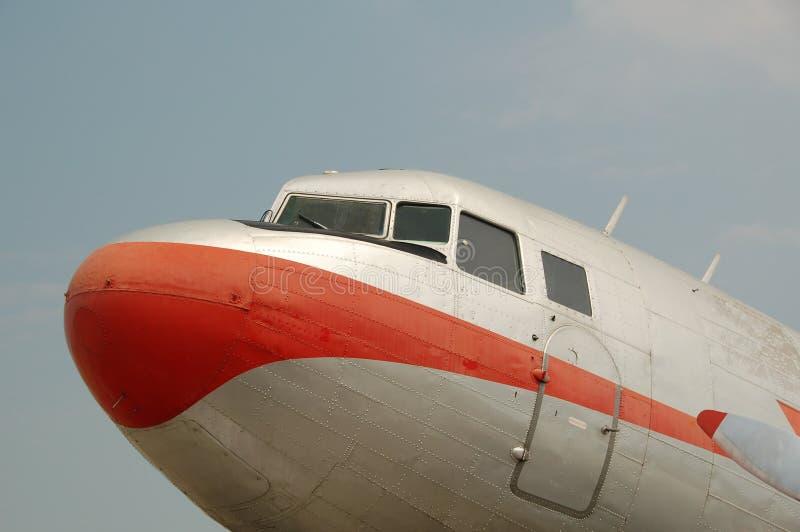 Historisch vliegtuig royalty-vrije stock afbeeldingen