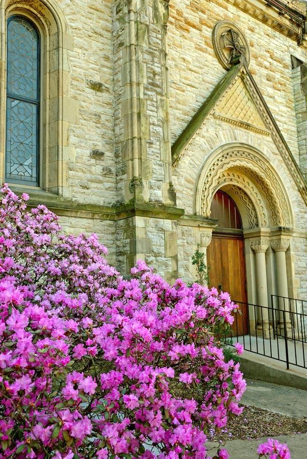 Historische 1800s Kirche lizenzfreie stockfotografie
