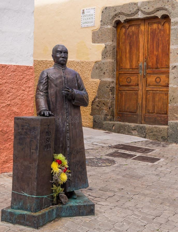 Historische Aguimes-Stad Gran Canaria Spanje stock afbeeldingen