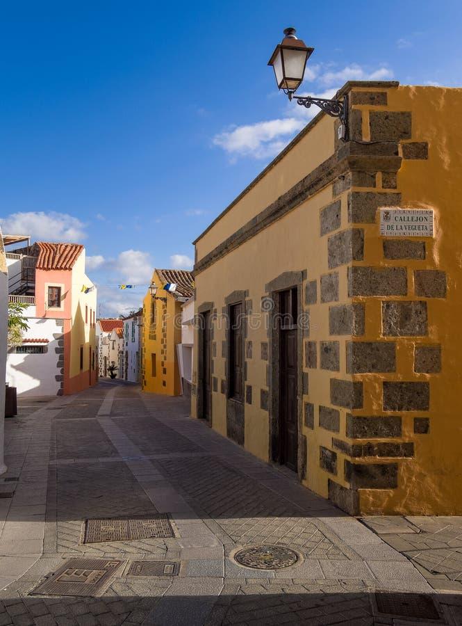 Historische Aguimes-Stad Gran Canaria Spanje stock fotografie