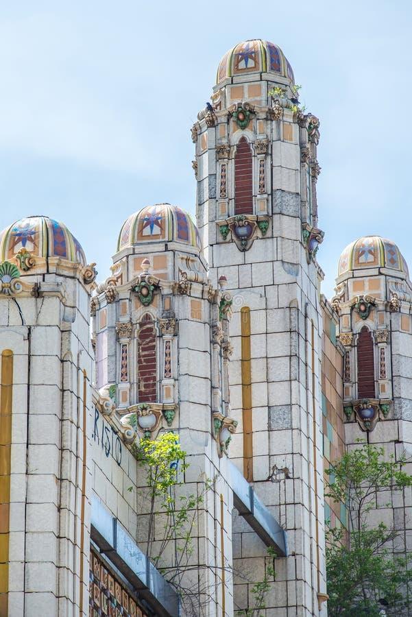 Historische architectuur Denver Colorado royalty-vrije stock foto