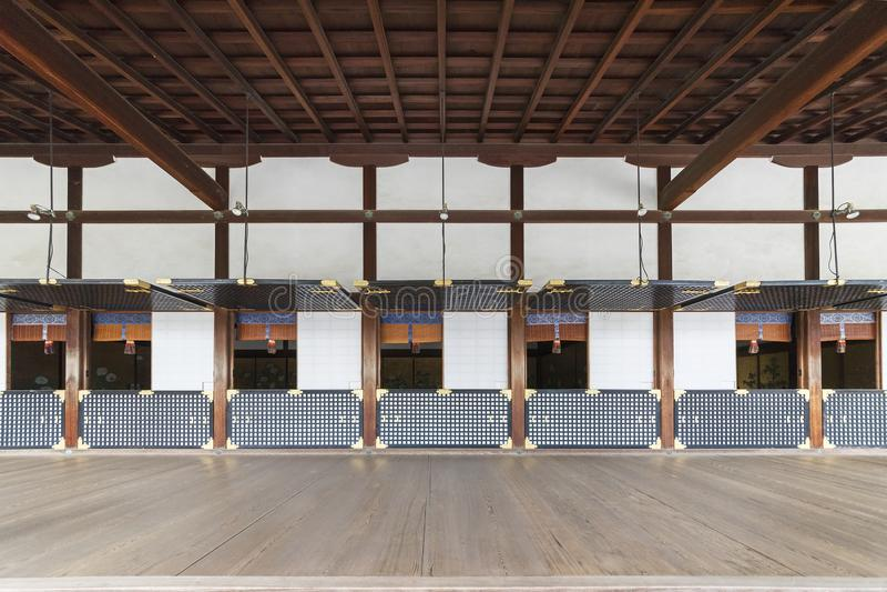 Historische architectuur in Kyoto, Japan stock afbeelding