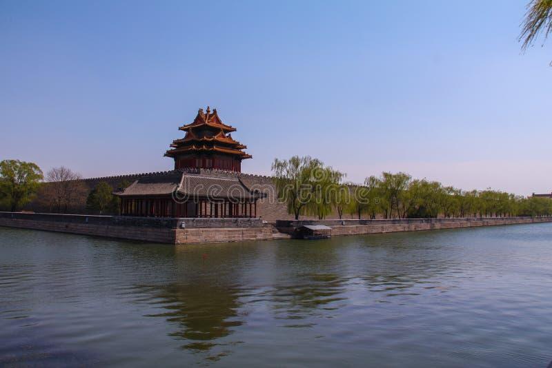 Historische architectuur van Peking royalty-vrije stock foto's