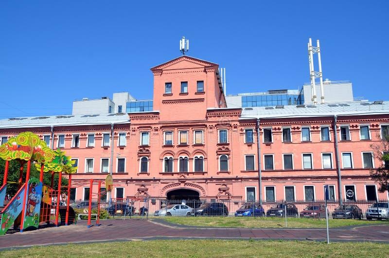 Historische architectuur van St. Petersburg royalty-vrije stock afbeelding
