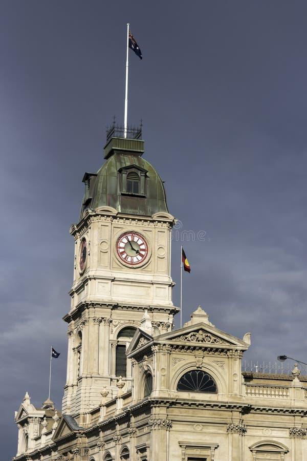 Historische Architektur Ballarat lizenzfreie stockfotografie