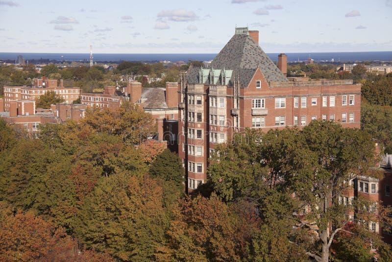 Historische Architektur von Shaker Heights stockfoto