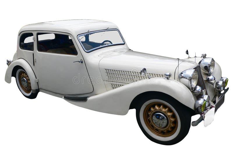 Historische auto royalty-vrije stock foto's