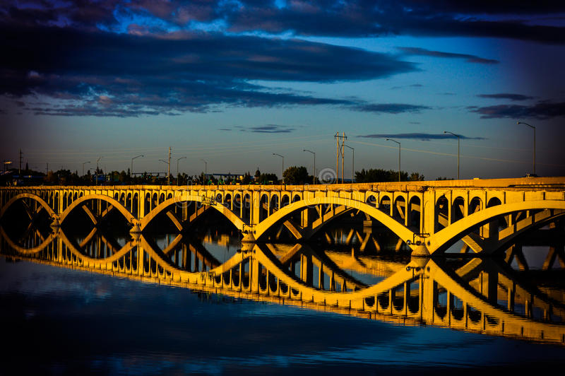 Historische Brücke lizenzfreie stockfotos