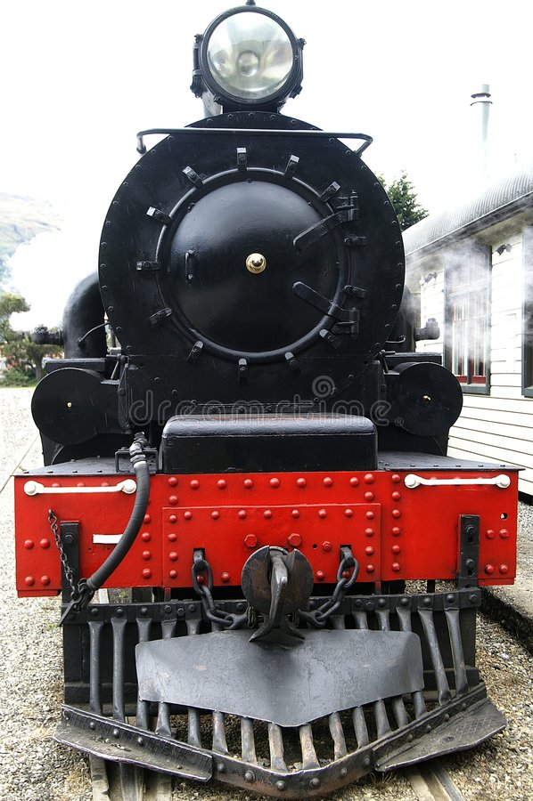 Historische Dampf-Serie stockbild