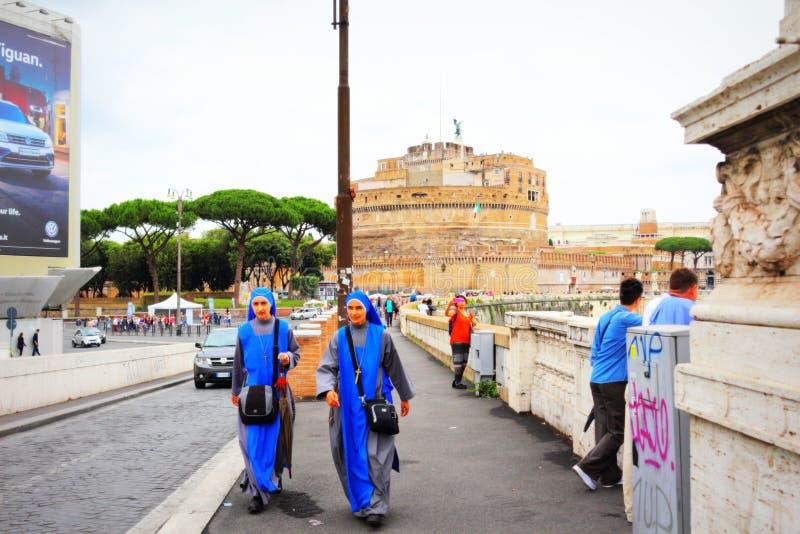 Historische de straatmening Italië van Rome stock afbeeldingen