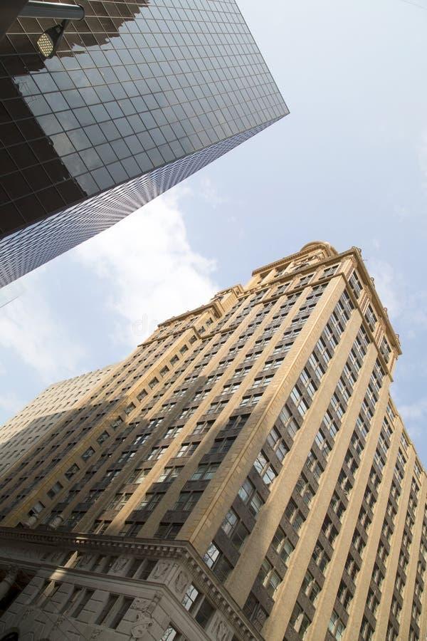 historische en moderne gebouwen royalty-vrije stock foto