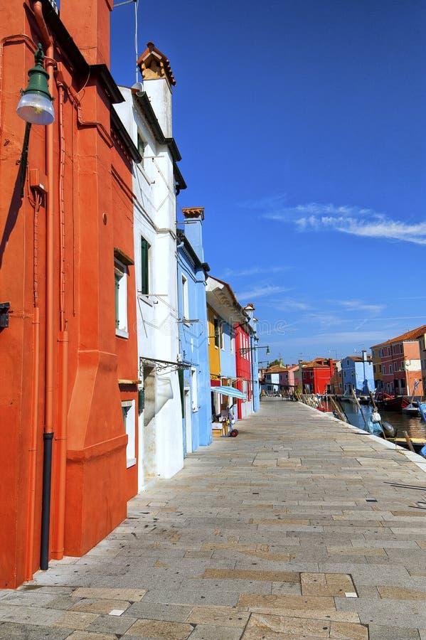 Historische en mooie Burano royalty-vrije stock foto