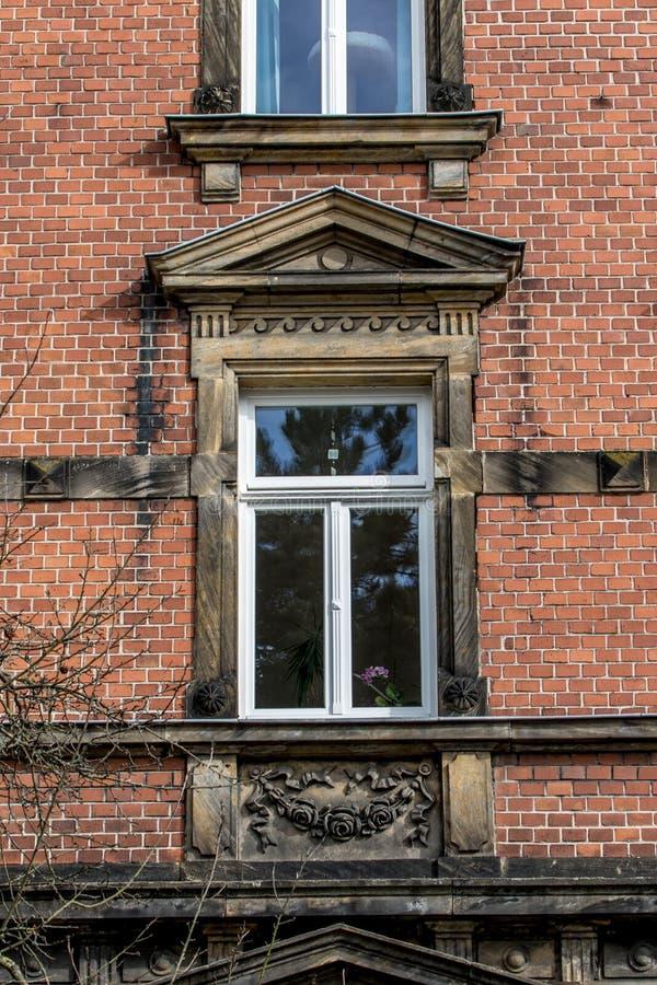 Historische Fassade - Bayreuth lizenzfreies stockfoto