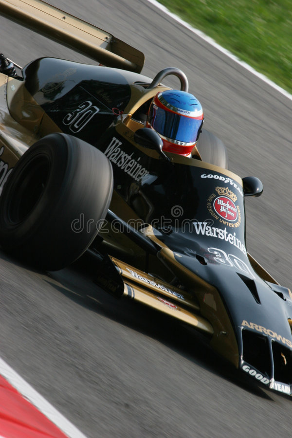 Historische Formel 1 lizenzfreies stockbild