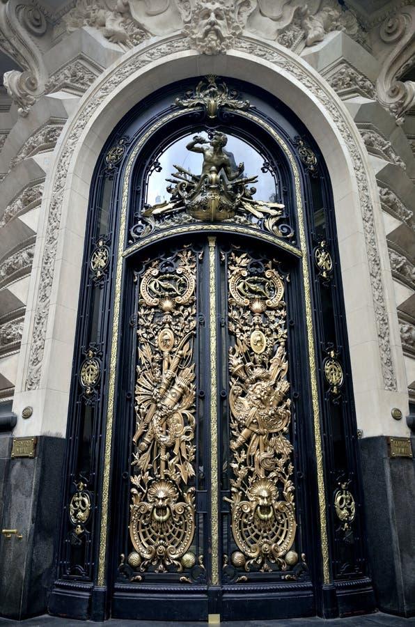 Historische Gebäude in Bundeshauptstadt Argentiniens Buenos Aires stockfotos