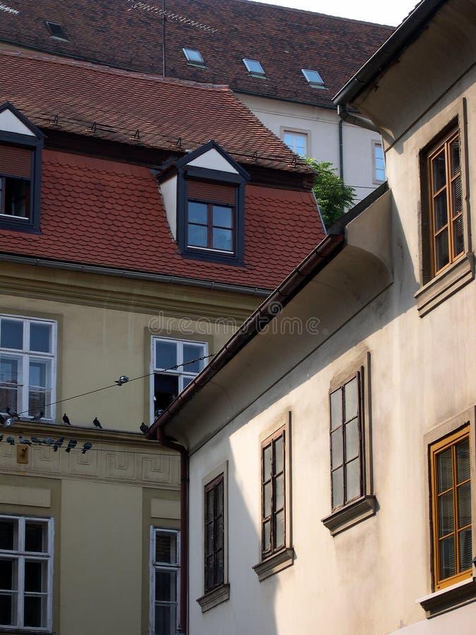 Historische gebouwen royalty-vrije stock afbeeldingen
