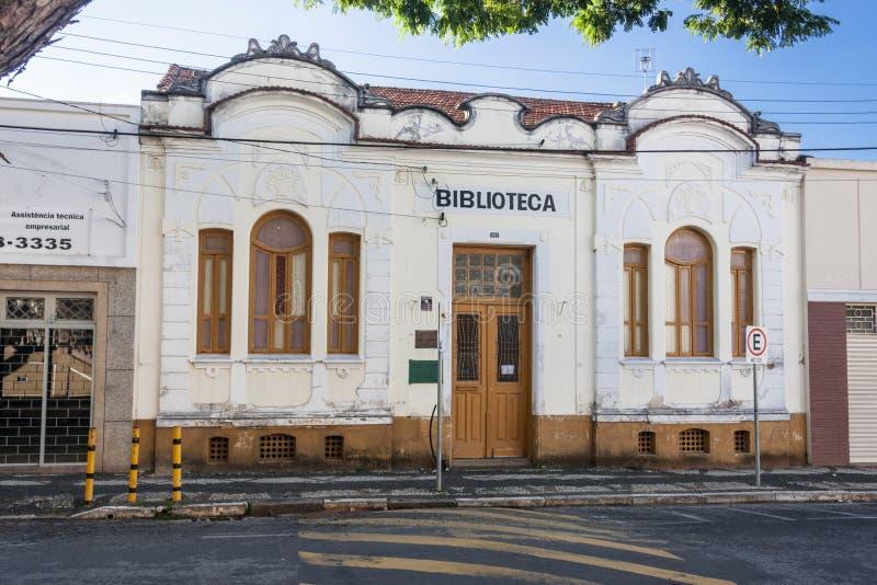 Historische Gebouwen in Amparo stock foto's