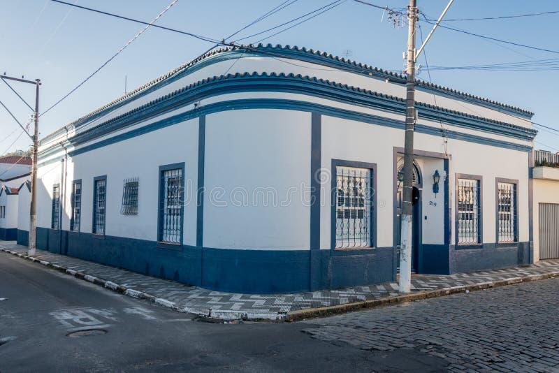 Historische Gebouwen in Amparo royalty-vrije stock fotografie