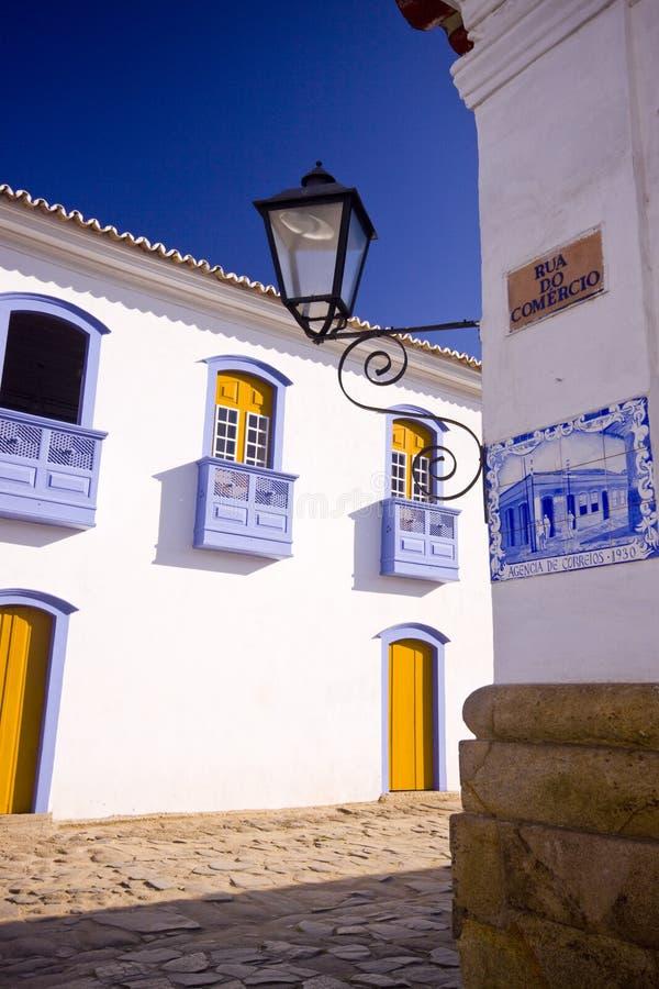 Historische gebouwen in Brazilië royalty-vrije stock foto's