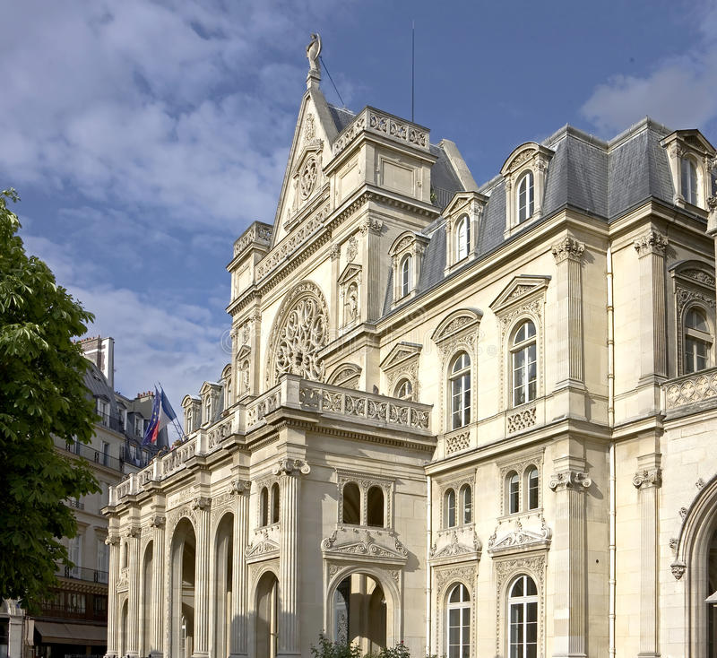 Historische gebouwen in Parijs 1 stock afbeeldingen