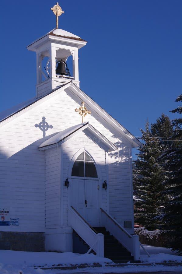 Historische Gebouwen Philipsburg Montana stock fotografie