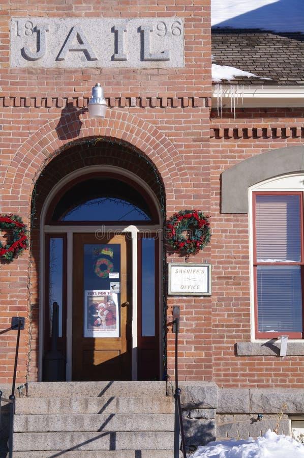 Historische Gebouwen Philipsburg Montana royalty-vrije stock afbeeldingen