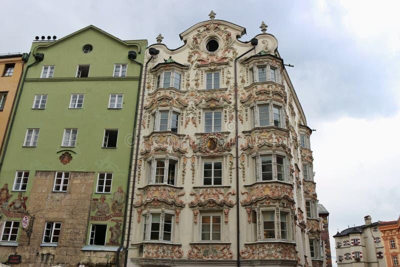 Historische h user in innsbruck sterreich redaktionelles for Architektur 3 reich