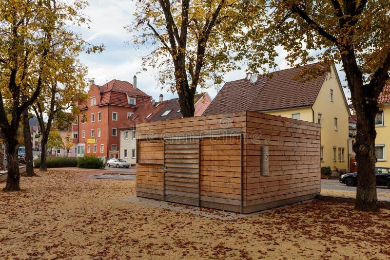 Historische Häuser Tuttlingen stockbild