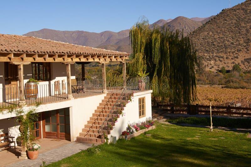 Historische Hacienda royalty-vrije stock afbeelding