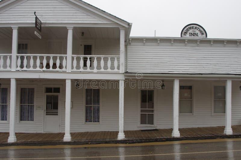 Historische Herberg, Montana royalty-vrije stock foto's