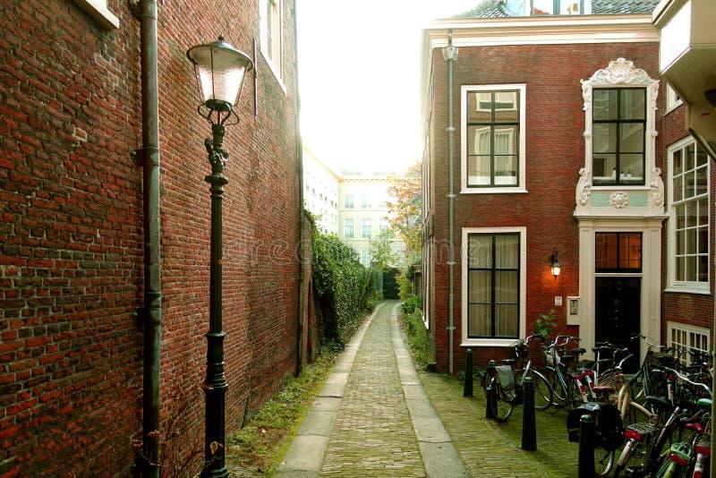 Historische huizen in Den Haag royalty-vrije stock fotografie