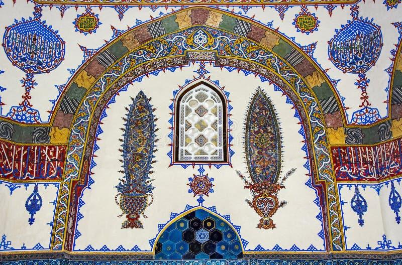 Historische islamische Dekoration, Motiv stockbild