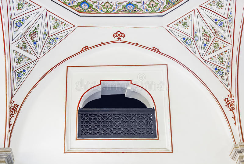 Historische islamische Dekoration, Motiv stockfotos