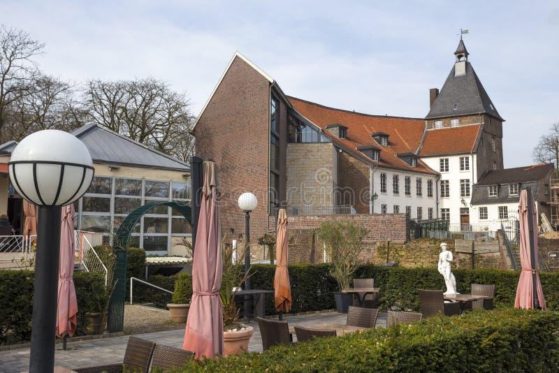 Historische kasteelmoers Duitsland royalty-vrije stock afbeeldingen