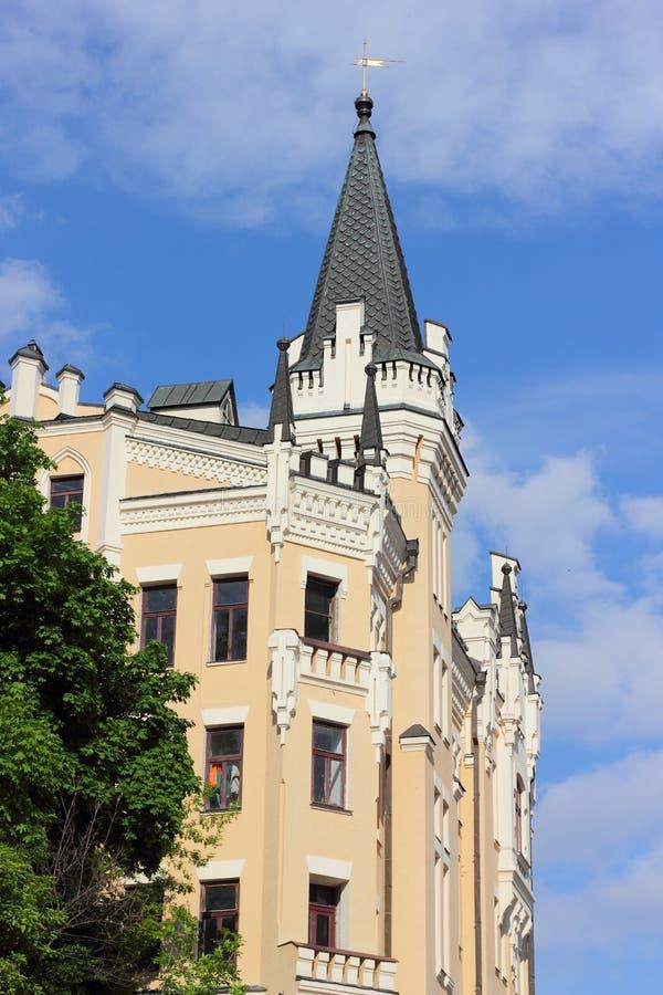 Historische kastelen van de Oekraïne stock foto