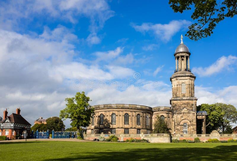 Historische Kirche in England lizenzfreies stockbild