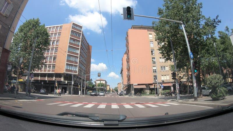 Historische Mazzini-straat royalty-vrije stock afbeelding
