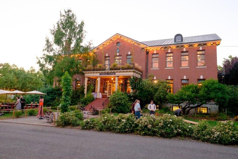 Historische McMenamins-Grand brengt onder royalty-vrije stock afbeelding